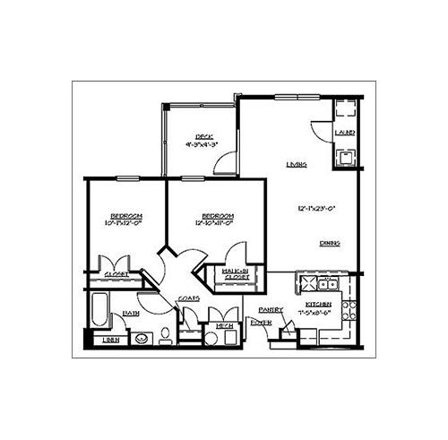 One Or Two Bedroom Apartments In Hampton, VA